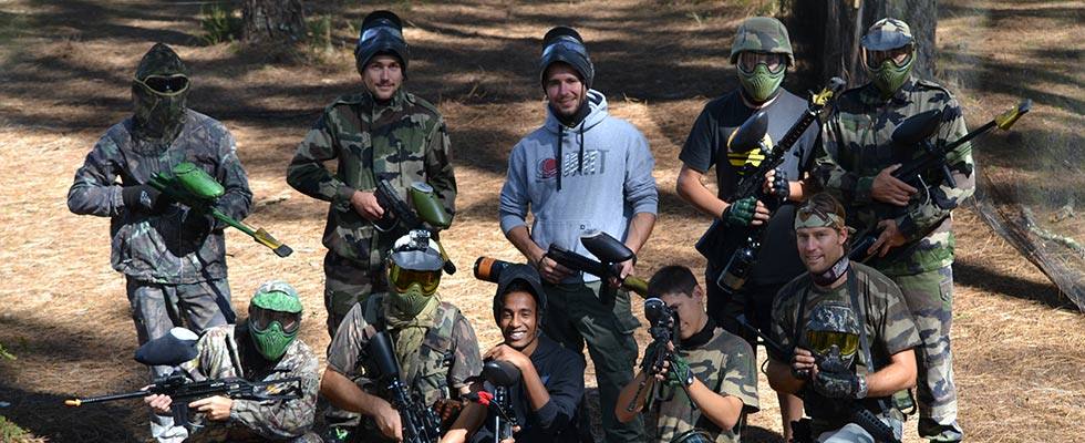 Paintball loisirs landes